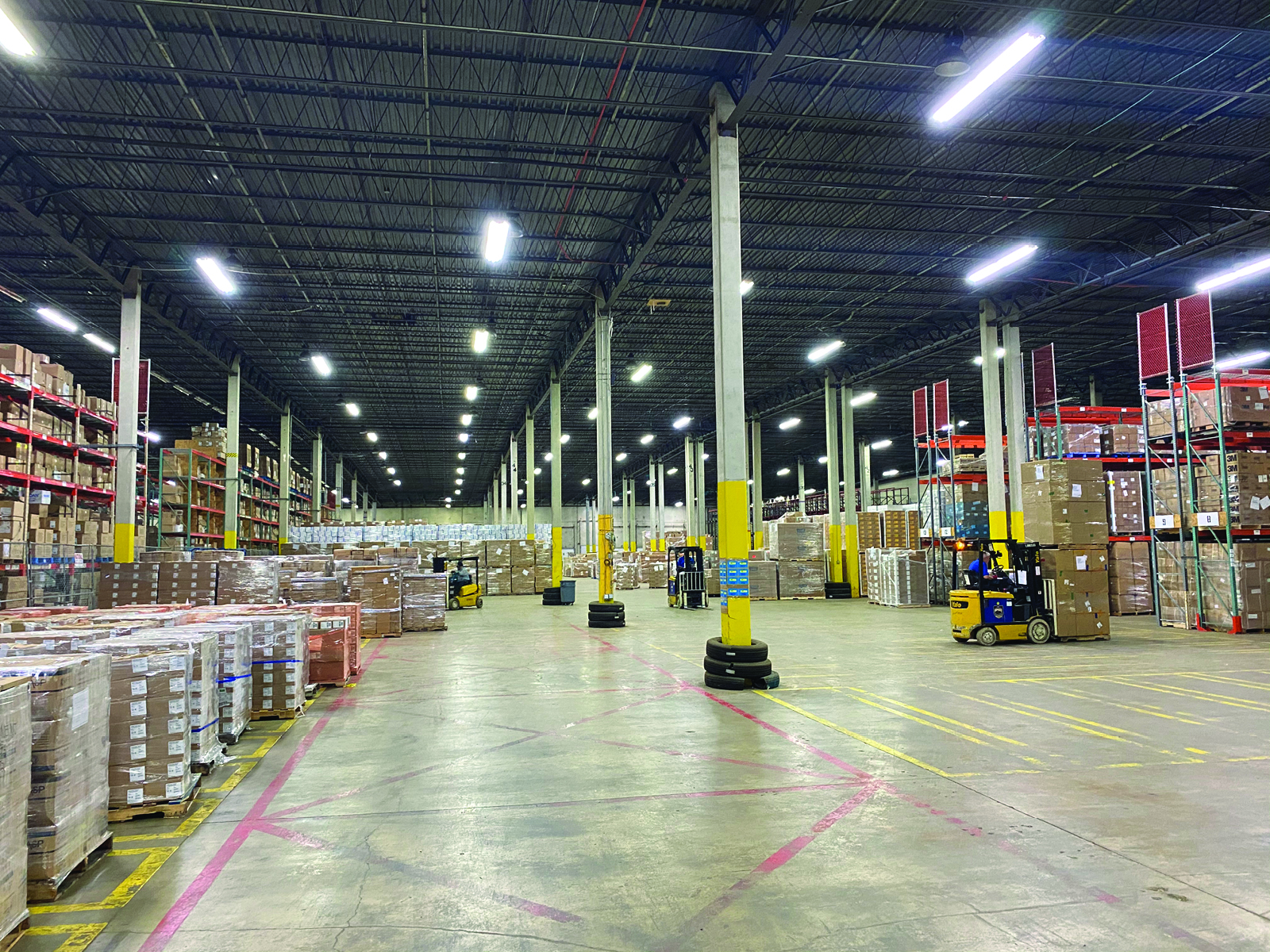 image of new logistical facility