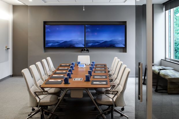 technology in conference room